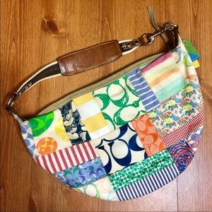Coach Hampton's Patchwork Hobo Bag
